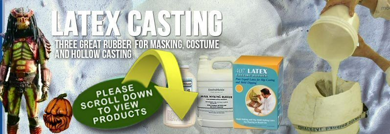 View Liquid Latex Casting Rubbers