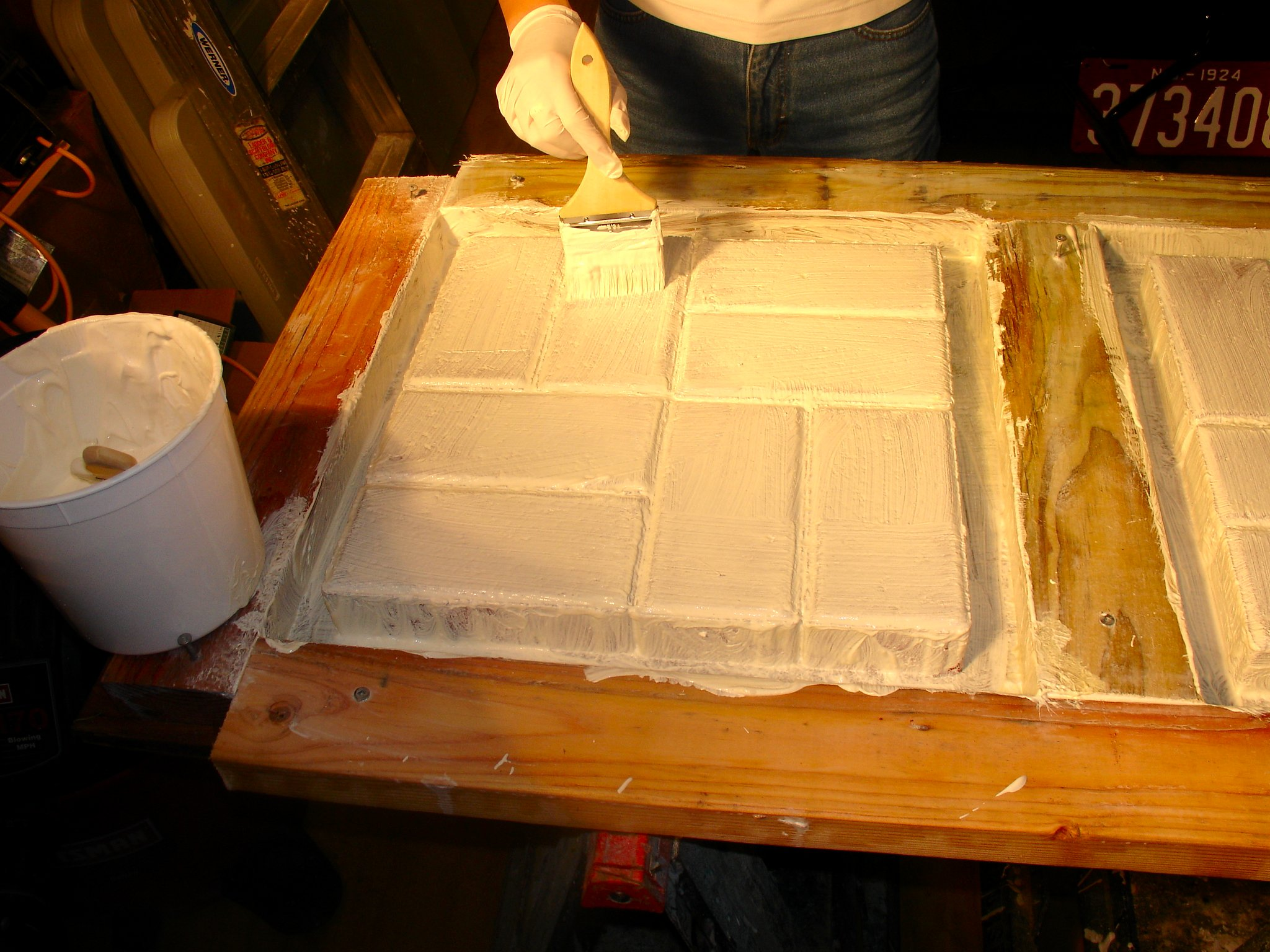 concrete mold making 13