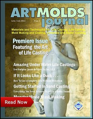 ArtMolds Journal June-July 2013 Cover