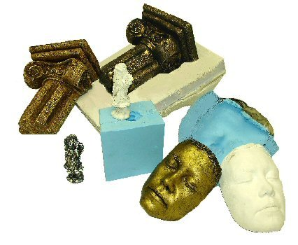 Examples of polurethane molds and castings