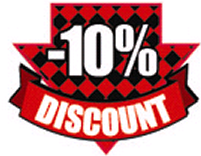 10% Discount to New Customers