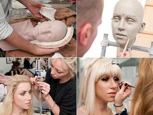 Making of Lady Gaga In Wax
