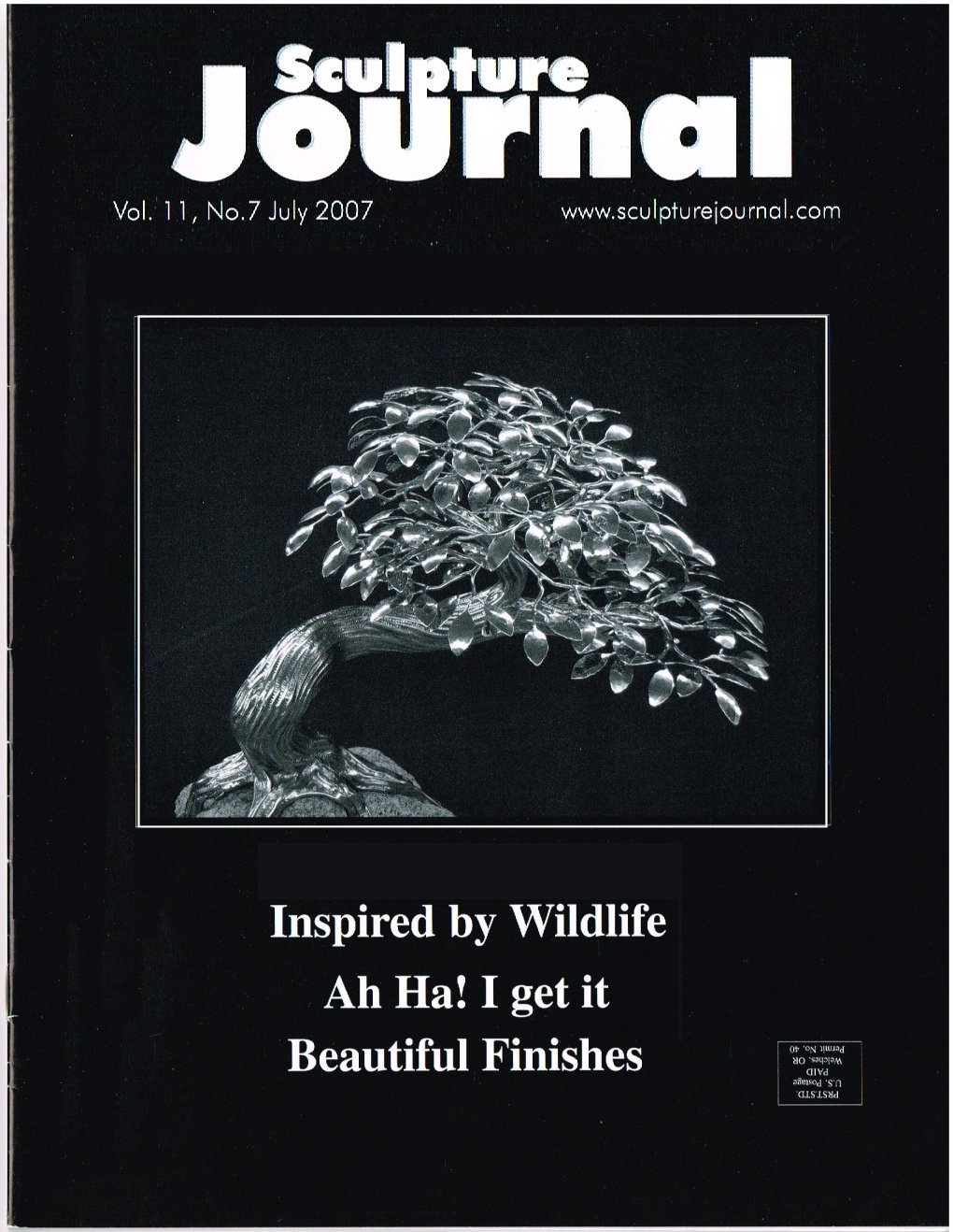 Sculpture Journal Cover