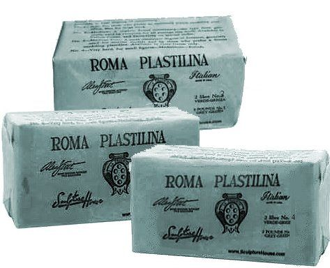 #1 Roma Plastilina Green/Grey - 20-Brick Case