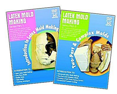 Latex Molding Series Set of 2 - DVDs
