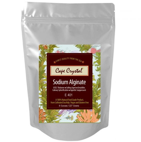 Sodium Alginate 8-oz Cape Crystal Brands