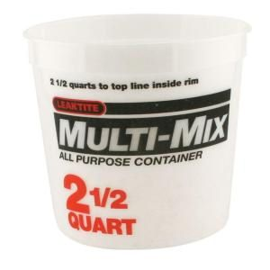 Single Multi-mix Container 2.5-Quart