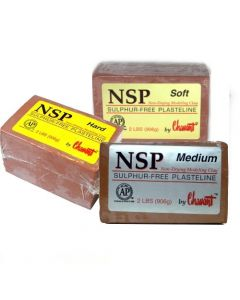 Chavant - NSP Plasteline Clay - Brown