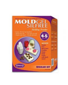 MoldGel Alginate SILFREE - Regular Set 4-5 Min Set