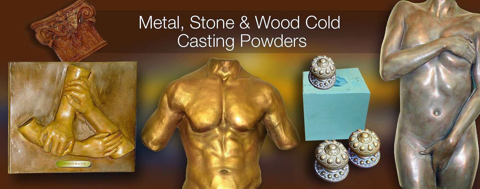 Cold Casting Supplies