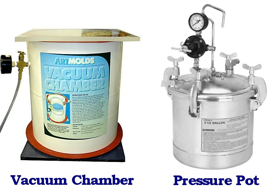Pressure Pot and Vacuum Chamber
